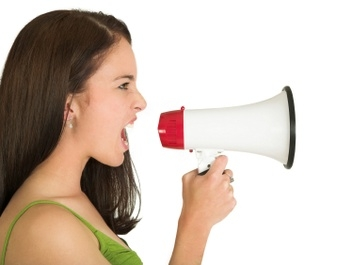 angry_woman_megaphone_400
